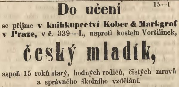 Český Mladík Do Učení