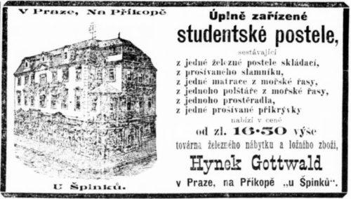 Zařízené Studentské Postele